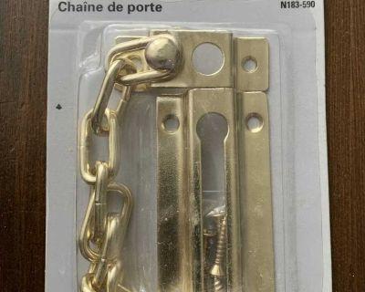 New Door Chain