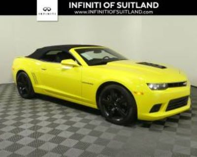 2015 Chevrolet Camaro SS with 2SS Convertible
