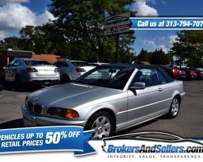 Used 2001 BMW 3-Series 325Ci convertible