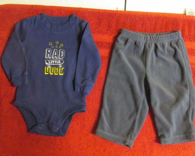 Two Carter's 9 mos. items