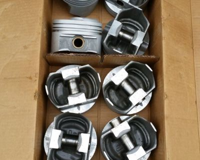 TRW Speed Pro 427 Chevy Forged Pistons L2268 .030 L-72 435hp 11-1 Corvette