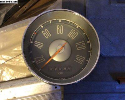 10/64 KPH red tip speedo