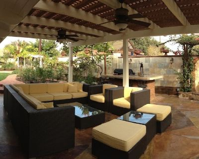 12/12-Monthly welcome! Private guest suits. Backyard,Patio/Jet tub/Printer - Riverview West