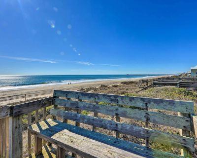 NEW! 'Hannah's Place' - Beachy Apt w/ Ocean Views! - Emerald Isle