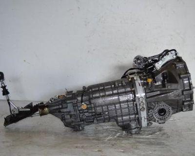 Jdm Subaru Impreza Wrx Sti Version 8 03+ 6 Speed Awd Transmission V8 Dccd Ej20t