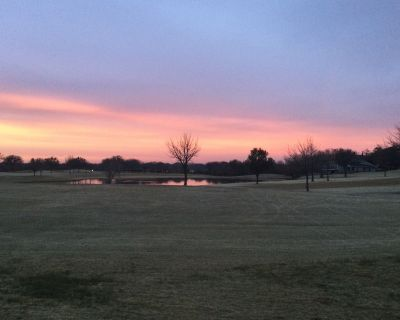 Golf course View .. Golf cart drive to New Town Center - Trophy Club