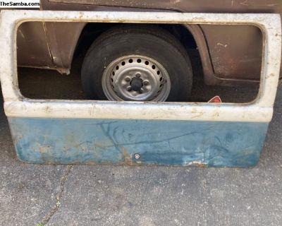 Rear hatch 1964-66 Original Paint bus