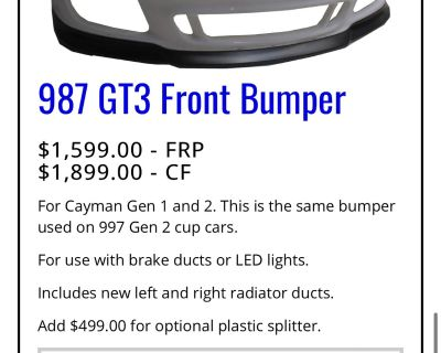 Getty Design Front Bumper and Wing