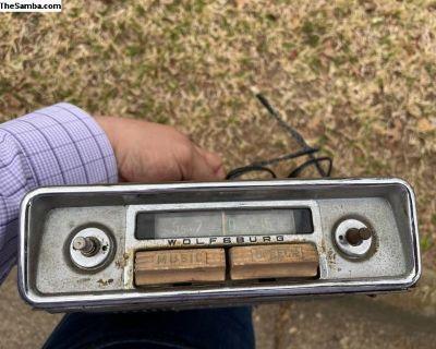 Blaupunkt Wolfsburg Radio
