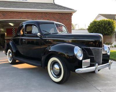 1940 Ford Deluxe Coupe Deluxe Flathead Restored V8