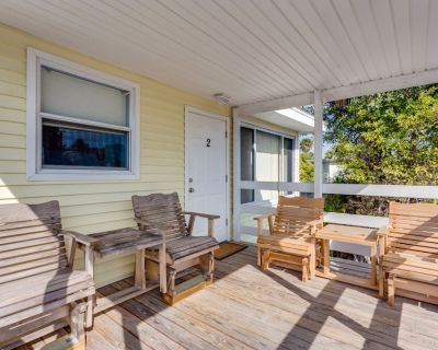 Enjoy a romantic getaway close to the beach when you book your stay at Snowbird - Fort Myers Beach