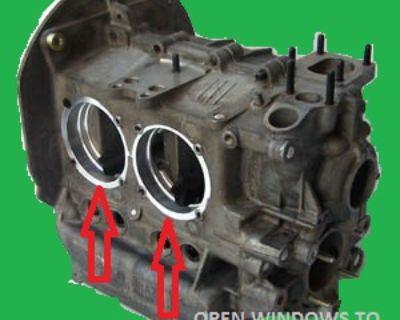 vw 2387 engine case rebuilt