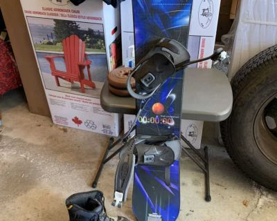 FREE snowboard and boots