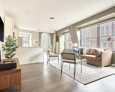 Sonder | Financial District | Airy 1BR + Sofa Bed - Boston Financial District