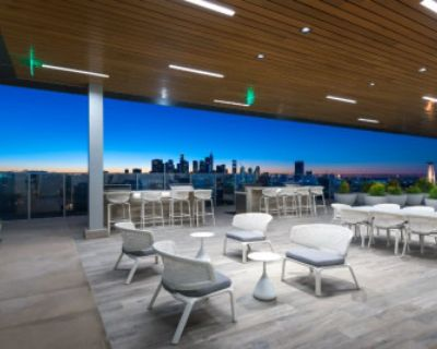 Downtown Skyline View, Full Service Kitchen, TV Lounge Area., Los Angeles, CA