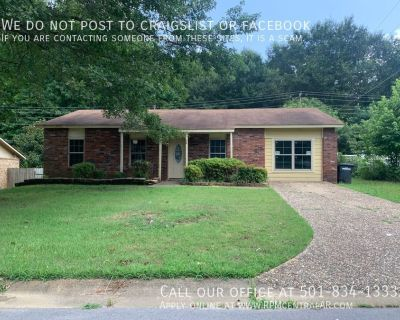 20 Creekdale Dr., Sherwood AR 72120 - Affordable 4br 1.5ba with office, near LRAFB