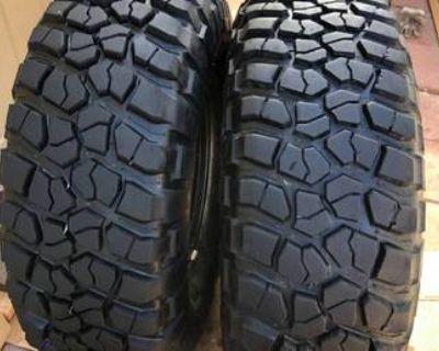 37x12.50R17LT BF Goodrich Mud Terrain T/A KM2 Tires
