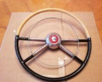 1953-54 Gord accessory steering wheel