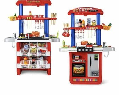 Playset - Kitchen & Grill 2in1