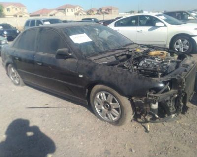 Salvage Black 1999 Audi A4