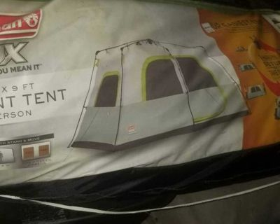 Coleman 8 Person Camping Tent Instant Setup