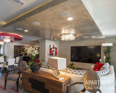 Tile and wood floors with private balconies.apartments in Houston ..