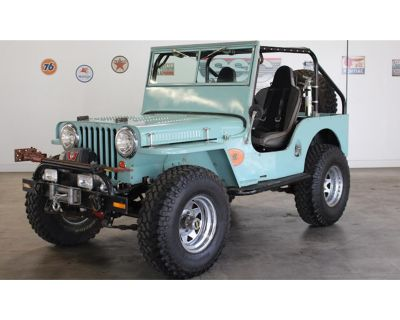1948 Willys-Overland CJ2A