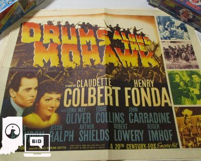 Vintage Movie Posters, Baseball Cards, Collectables in Camby, IN 46113