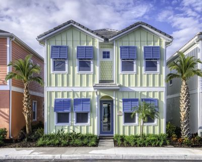 Gleaming Cottage with Hotel Amenities near Disney World - 8008LS - Four Corners