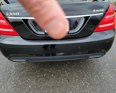 FS: Mercedes W221 S550 S600 AMG Rear Bumper Cover Assembly Sport Black OEM