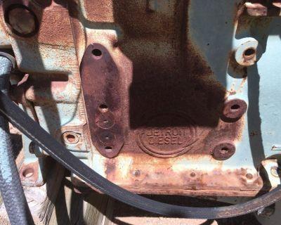Detroit Diesel Engine Model 4-53T