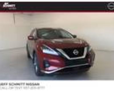 2021 Nissan Murano Red, 10 miles