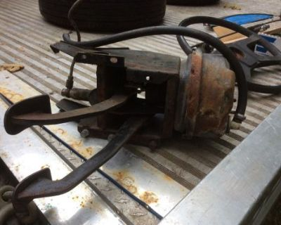 Mgb Brake Pedal Assembly With Booster And Clutch Master