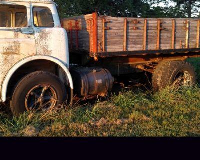 72 can over dump truck antique 14ft bed hoist