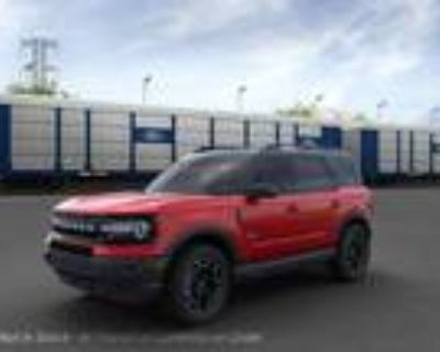 2021 Ford Bronco Red