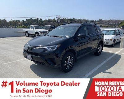 Pre-Owned 2018 Toyota RAV4 LE FWD 4D Sport Utility