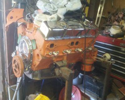 REBUILT CHEVY 283 HP ENGINE