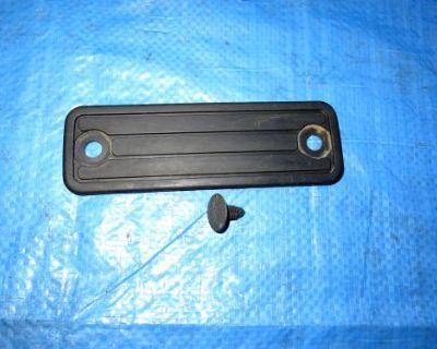 02-07 Subaru Impreza Wrx & Sti Foot Rest Pad Dead Pedal Driver Black Lh Side Oem