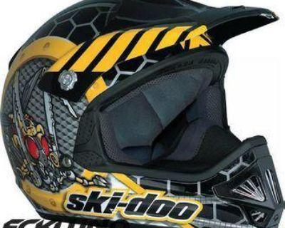Ski-doo Ski-doo Junior Snowcross Helmet M - Non Current 4473590610
