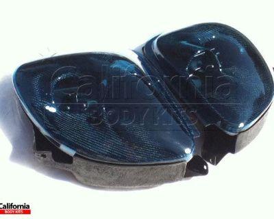 Cbk Carbon Fiber Cwes Headlight Housings & Blue Lenses Mazda Rx-7 Fd3s 93-97 Usa