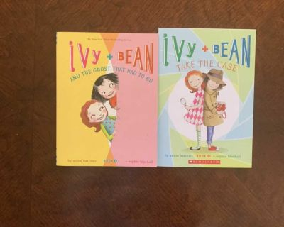 Set of books- Ivy and Bean