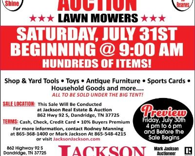 Consignment Auction 7-31-21
