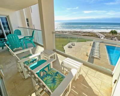 FREE Beach Service! Recently updated 1 bdr condo at Regency Towers 406 East! - Pensacola Beach