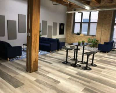 Beautiful fully furnished loft office, Chicago, IL