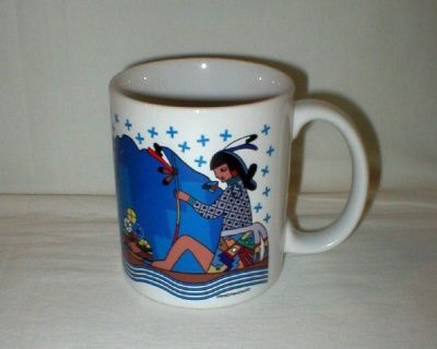 Native American Art Coffee Mug - Artist Signed