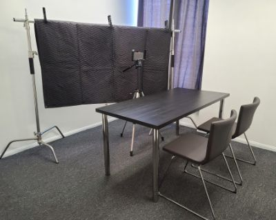 Meetings, Casting, Self Tape Auditions, Production or Hair and Makeup Office - Nook A, Burbank, CA