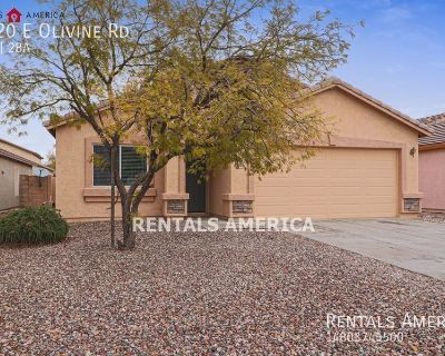 Beautiful 4 Bed 2 Bath in San Tan Valley Ready Now!