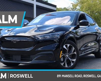 Pre-Owned 2021 Ford Mustang Mach-E Premium With Navigation & AWD
