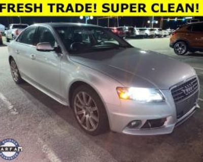 2012 Audi A4 Premium Plus Sedan 2.0T quattro Automatic