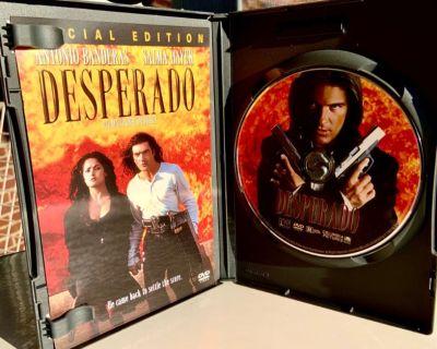 Desperado Dvd (1995) Antonio Banderas, Salma Hayek